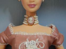 Wedgwood Mattel Barbie Poupée Rose Jasper Cameo Limited Edition 2001 Boxed