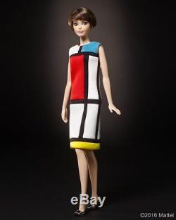 Yves Saint Laurent Barbie Iconic 1965 Mondrian Dress Limited